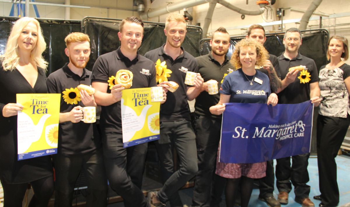 Berry & Escott support St. Margaret's hospice campaign